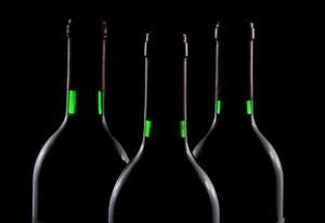 botella de vino para un jubilado