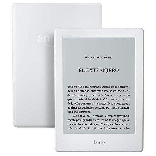 E-reader Kindle, pantalla táctil antirreflejos de 6'' (15,2 cm), Wi-Fi (Blanco)